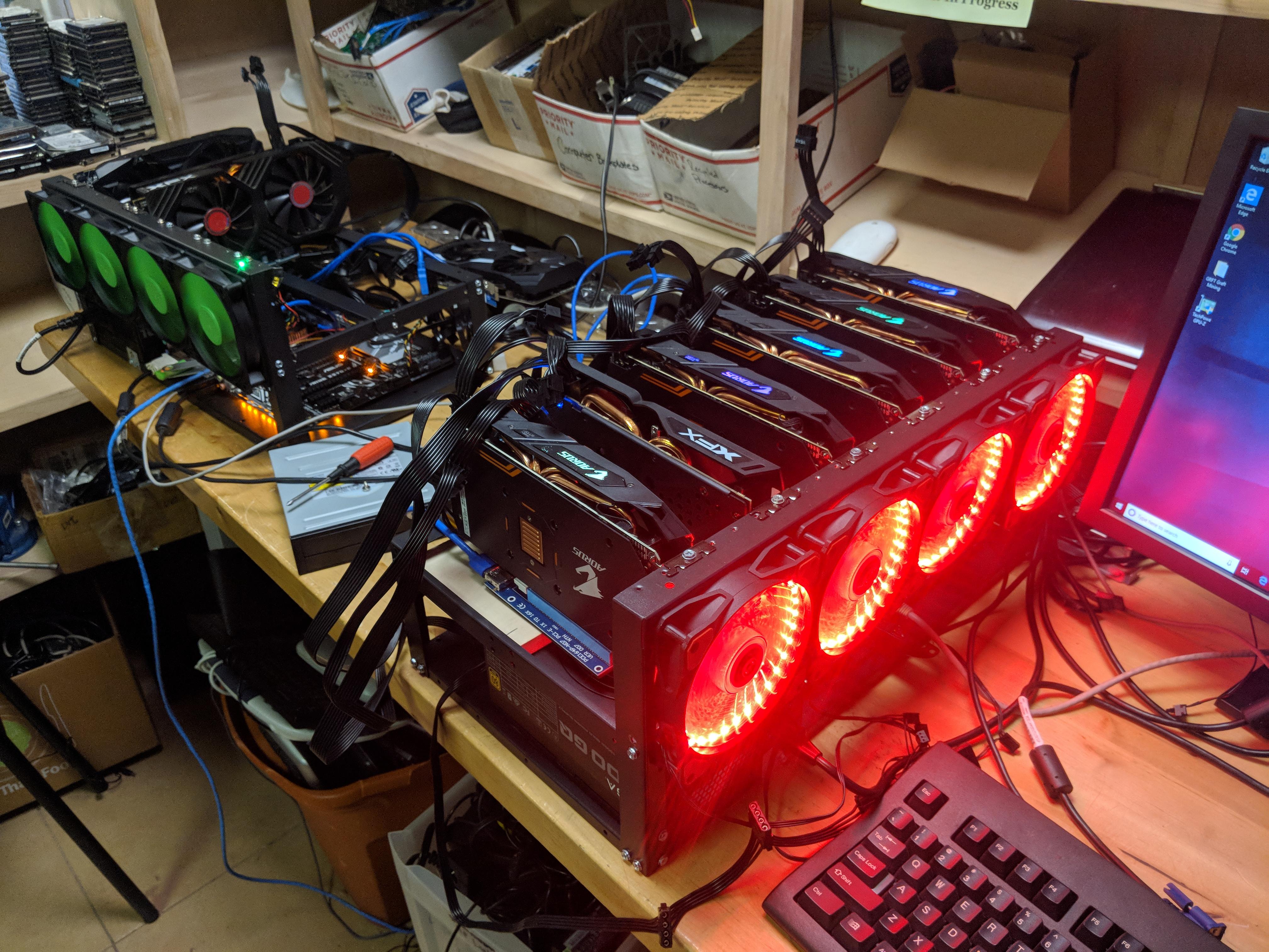 Prescott Valley, AZ Building GPU Mining Rig RX 570 6x Rig