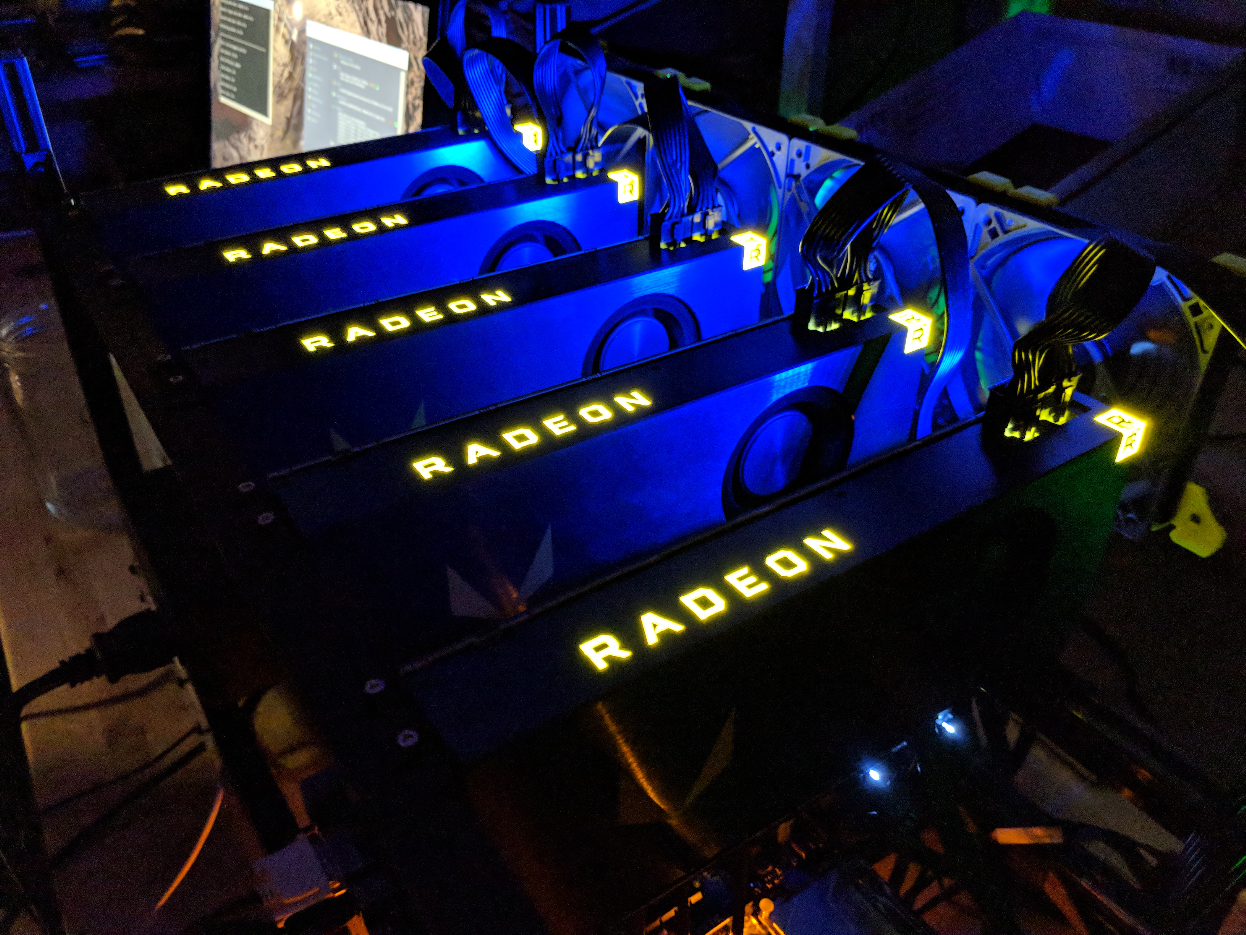 Building RX Vega Frontier Edition 5x GPU Mining Rig